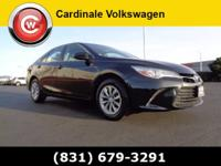 Clean CARFAX. Gray 2015 Toyota Camry LE FWD 6-Speed