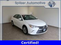 Toyota Camry LE CARFAX One-Owner. Certified. Clean