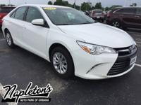 New Price! Recent Arrival! 2015 Toyota Camry in White,