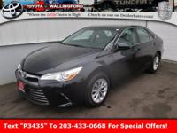 2015 Toyota Camry LE New Price! Certified. Clean
