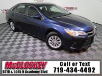 Super low miles and stylish 2015 Toyota Camry LE w/