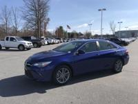 Blue Crush Metallic 2015 Toyota Camry SE FWD 6-Speed