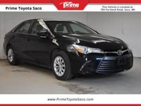 CARFAX One-Owner. 2015 Toyota Camry LE in Cosmic Gray