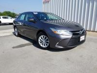 CARFAX One-Owner. Clean CARFAX. Gray 2015 Toyota Camry