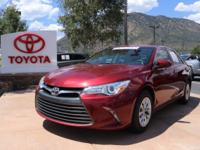 Clean CARFAX. 2015 Toyota Camry LE 4D Sedan FWD 6-Speed
