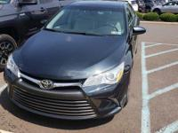 CARFAX One-Owner. Blue 2015 Toyota Camry XLE FWD
