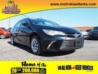 This 2015 Toyota Camry LE boasts features like traction