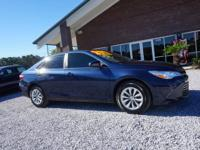 Presenting our athletic 2015 Toyota Camry SE in