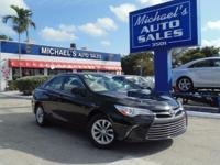 Options:  2015 Toyota Camry Le|Black|Don't Let The