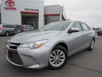 This 2015 Toyota Camry comes equipped with back-up