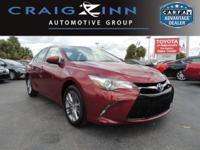 This 2015 Toyota Camry SE will sell fast -Backup Camera