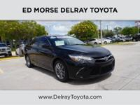 This 2015 Toyota Camry SE is proudly offered by Ed