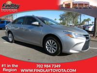 Toyota Certified, CARFAX 1-Owner. EPA 35 MPG Hwy/25 MPG