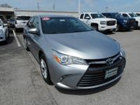 CARFAX One-Owner. Silver 2015 Toyota Camry LE FWD
