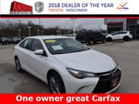 CARFAX One-Owner. Clean CARFAX. Blizzard Pearl 2015