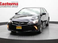 Recent Arrival! 2015 4D Sedan Black 2015 Toyota Camry