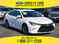 *2015 Toyota Camry SE - *Sedan - I4 2.5L Engine -