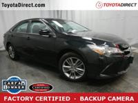 2015 Toyota Camry SE TOYOTA CERTIFIED! CARFAX VERIFIED
