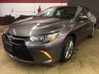This Camry is equipped with keyless entry, alloy