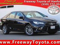 CARFAX One-Owner. Clean CARFAX. Black 2015 Toyota Camry