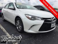 New Price! Recent Arrival! Certified. 2015 Toyota Camry