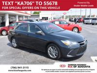 CARFAX One-Owner. Cosmic Gray Mica 2015 Toyota Camry SE