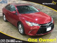 2015 Toyota Camry Ruby Flare Pearl Accident Free Auto
