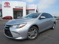 This 2015 Toyota Toyota Camry comes equipped with power