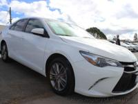 This 2015 Toyota Camry 4dr SE Sedan 4D features a 4-CYL