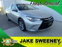 Presenting our athletic 2015 Toyota Camry SE that's