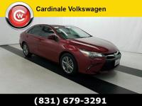 CARFAX One-Owner. Ruby Flare Pearl 2015 Toyota Camry SE