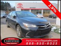 ONE OWNER!! 2015 TOYOTA CAMRY SE!! TOYOTA CERTIFIED 7