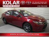 2015 Toyota Camry XSE with 18 Alloy Wheels.Please feel