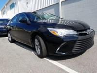 Black 2015 Toyota Camry FWD 6-Speed Automatic 2.5L I4