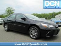 CARFAX One-Owner. Black 2015 Toyota Camry FWD 6-Speed