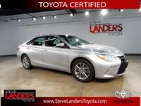 Toyota Certified. SE, Alloy wheels, Entune Audio,