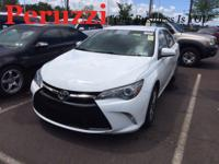 CARFAX One-Owner. Clean CARFAX. White 2015 Toyota Camry