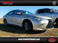Camry SE, Gold, ABS brakes, Alloy wheels, Electronic