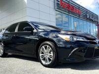 This 2015 Toyota Camry SE is proudly offered by Nissan