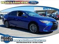 Clean CARFAX. 2015 Toyota Camry XLE 2.5L I4 SMPI DOHC