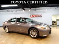 Toyota Certified, SE, Alloy wheels, Entune Audio,