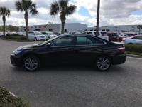 This outstanding example of a 2015 Toyota Camry SE is