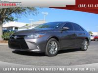 2015 Toyota Camry SE, *** 1 FLORIDA OWNER *** CLEAN