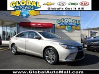 Great deal on this 2015 Camry SE. Features include