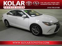 Camry SE, ONE Owner Per AUTO CHECK History Report,