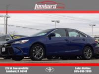 2015 Toyota Camry SE in Blue Crush Metallic, **ONE