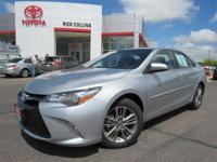 Back up Camera! Rear Spoiler! This 2015 Toyota Camry is