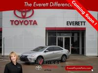 Recent Arrival! 2015 Toyota Camry XLE Silver 2.5L I4