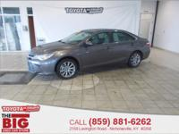 Clean CARFAX. Predawn Gray Mica 2015 Toyota Camry