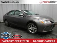 2015 Toyota Camry XLE TOYOTA CERTIFIED! CARFAX VERIFIED